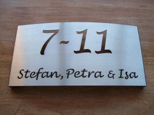 HuisnummerGigant A-02 naambord 3