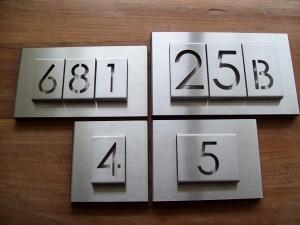 HuisnummerGigant B-01 huisnummbord 9