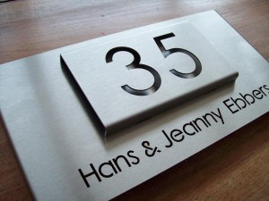 HuisnummerGigant B-02 naambord 5