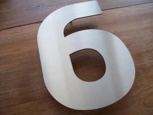 HuisnummerGigant D-01 huisnummer 9